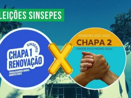 Chapa 2 é reeleita para diretoria do Sinsepes