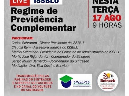 LIVE REGIME DE PREVIDÊNCIA COMPLEMENTAR